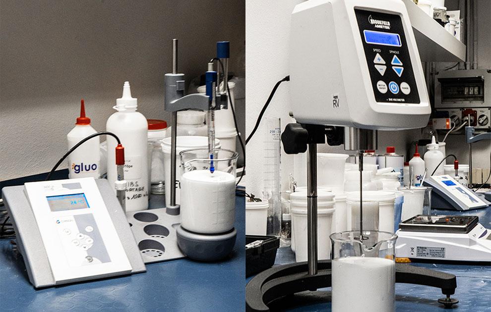 Produzione adesivi, colle e collanti industriali professionali
